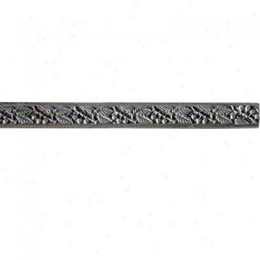Florida Tile Metal Art Listello 3/4 X 8 Pew5er Charms Tile & Stone