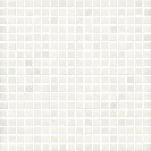 Florida Tile Pierta Art Mosaics 5/8 Polished China White Tile & Stone
