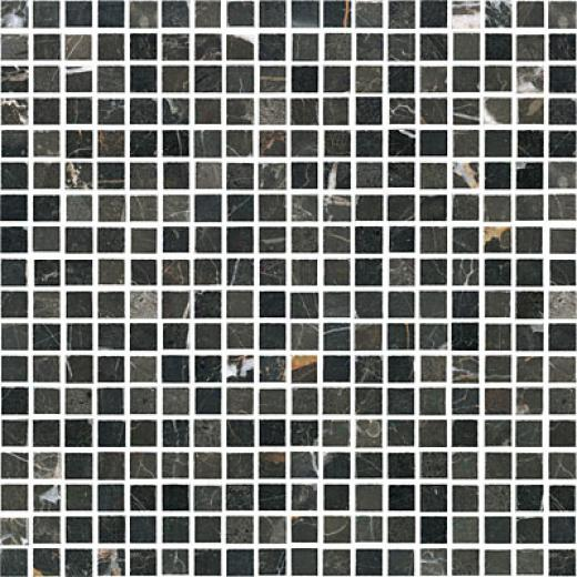 Florida Tile Pierta Art Mosaics 5/88 Polished Emperador Dark Tile & Stone