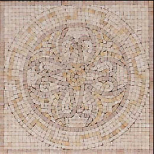 Florida Tile Pietra Art Marble 12 X 12 Desrtr Cream Tile & Stone