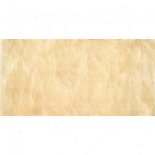 Florida Tile Pietra Art Mosaics 3 X 6 Polished Honey Onyx Tile & Stone