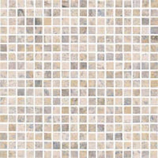 Florida Tile Pietra Art Polished Travertine Mosaoc Mosaic Argento Tile & Stone