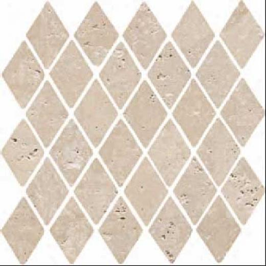Florida Tile Pietra Art Stone Diamond Mosaic Brown Tile & Stone