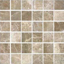 Florida Tile Pietra Art Travertine Round Rosone 36 Rosso Tile & Stone