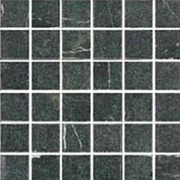 Florida Tile Pietra Art Tumbled Marble Mosaic Negro Marquina Tile & Stone