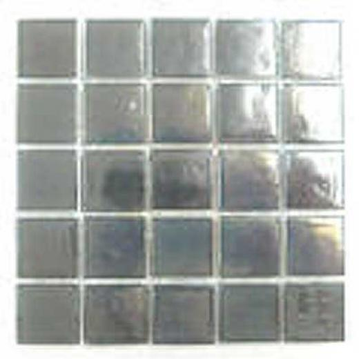 Florida Tile Platinum Glass Mosaic Fog Mist Tile & Stone