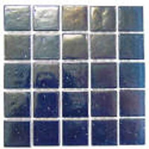 Florida Tile Platinum Glass Mosaic Blue Tile & Stone