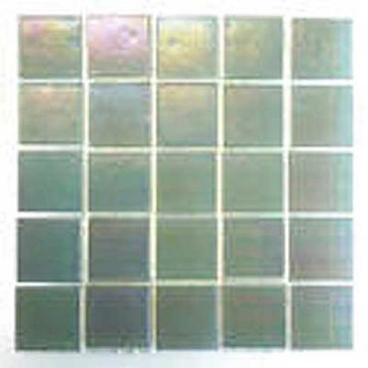 Florida Tile Platinum Glass Mosaic Snow Mist Tile & Stone