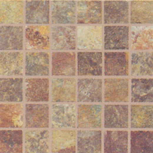 Florida Tile Solano Slate Mosaic 2 X 2 (13 X 13) Slate Mosaic 4500