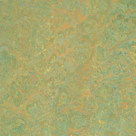 Forbo Marmoleum Sheet Mixed Greens Green Melody Vinyl Flooring
