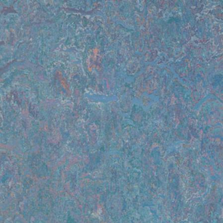 Forbo Marmoleum Sheet Rhythmic Blues Blue Vinyl Flooring