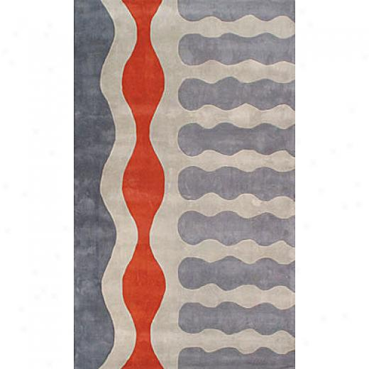 Foreign Accents Festival Multi Colored 8 X 10 Gray Area Rugs