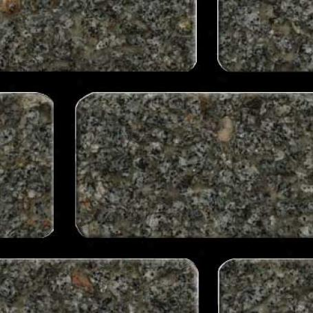 Fritztile Brick 1/4 Wt6200 Imperial Gray Granite Tile & Stone