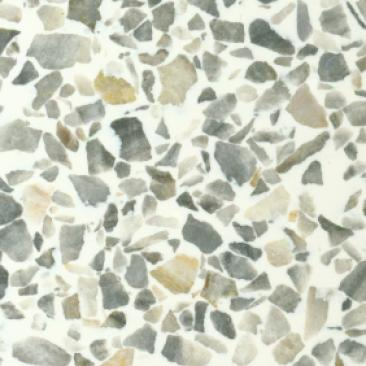 Fritztile Classic Terrazo Cln600 3/16 Classic Gray Tile & Stone