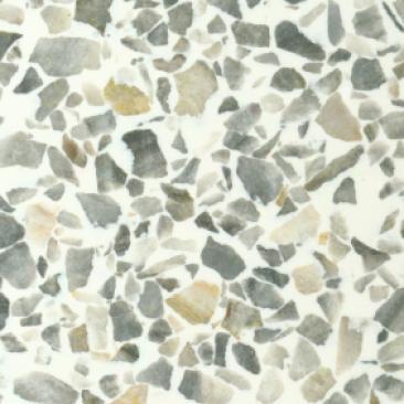 Fritztile Classic Terrazzo Cl200 1/8 Thick Classic Gray Tile & Stone