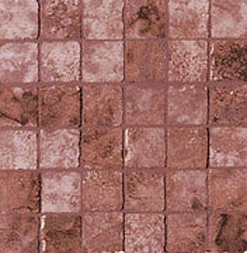 Geo Ceramiche Camelot Mosaic 2 X 2 Burgundi Tile & Stone