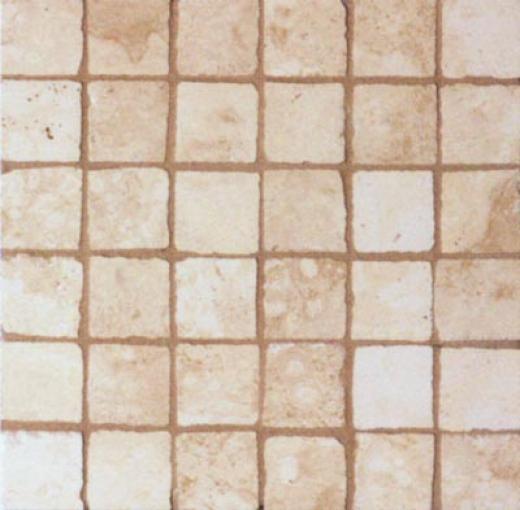Geo Ceramiche Celtic Mosaic 2 X 2 Almond Tile & Stone