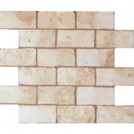 Geo Ceramiche Celtic Mosaic 2 X 4 Almond Tile & Stone