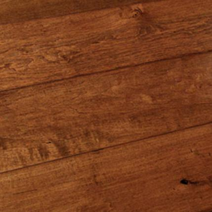Hallmark Hardwoods Heirloom Collection American Hickory Infusion  Leaf Hardwood Flooring