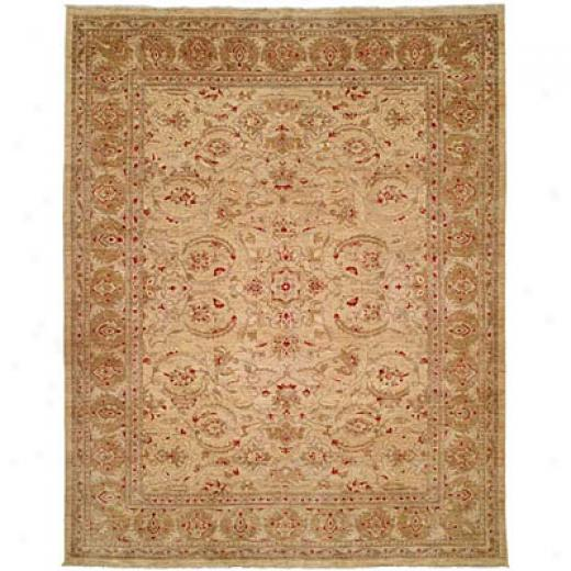 Harounian Rugs International Apadana 8 X 10 Gold/gold Area Rugs