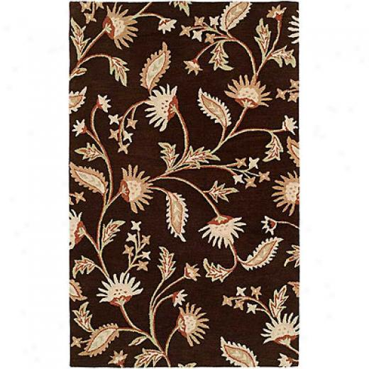 Harounian Rugs International Inspiration 8 X 11 Brown Area Rugs