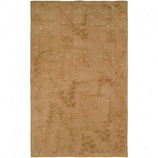 Harounian Rugs International Eden Park 5 X 8 Gold Area Rugs