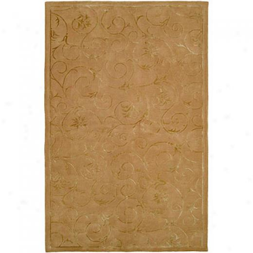 Harounian Rugs International Eden Park 8 X 11 Gold Area Rugs