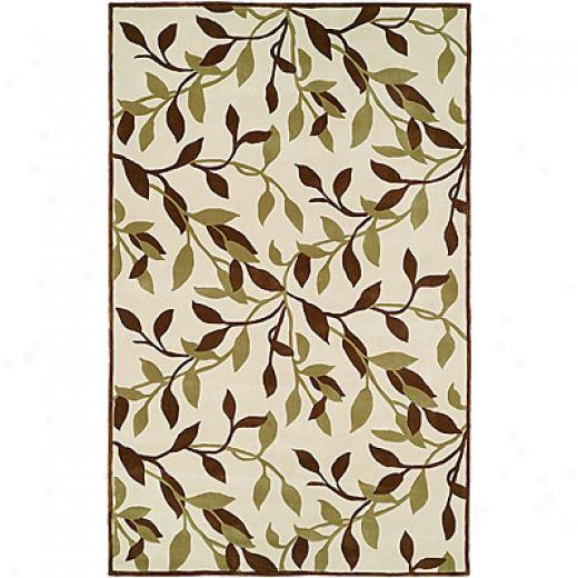 Harounian Rugs International Camelot Ii 5 X 8 Ivory Area Rugs