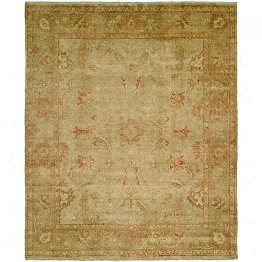 Harounian Rugs International Oushak 6 X 9 Sage/beige Area Rugs
