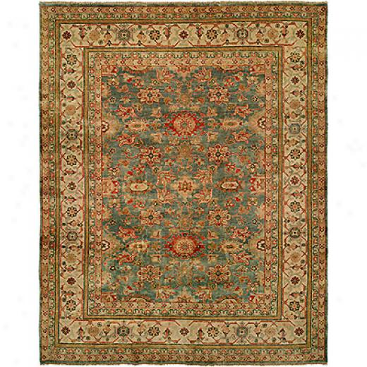 Harounian Rugs International Mahal 8 X 10 Light Blue/ivory Area Rugs