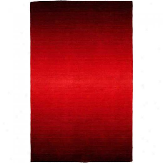 Harounian Rugs International Rainbow 5 X 8 Red Area Rugs