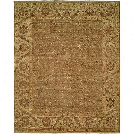 Harounian Rugs International Classical Elegance 9 X 12 Light Green Area Rugs
