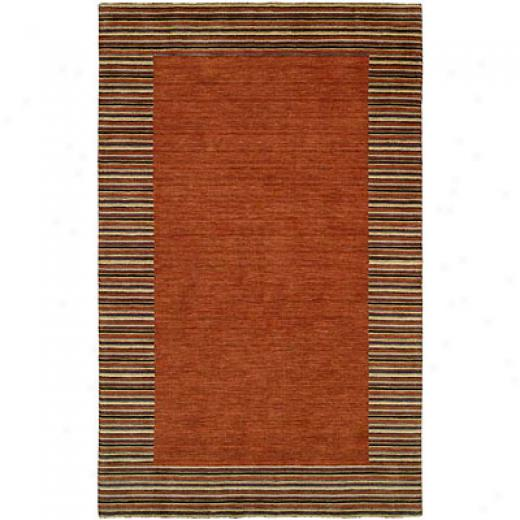 Harounian Rugs International European 8 X 10 Rust Area Rugs