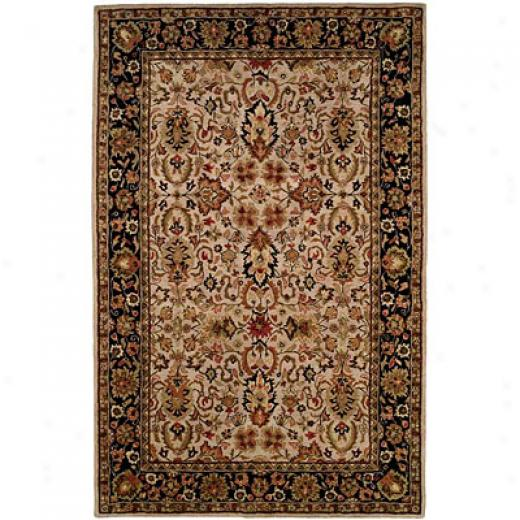 Harounian Rugs International Park Avenue 3 X 7 Ivoru/black Area Rugs