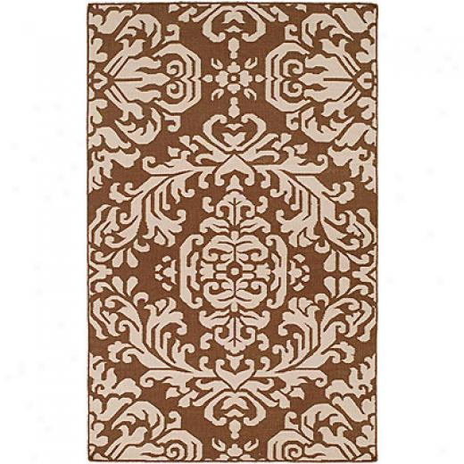 Harounian Rugs Internationla Damask 8 X 10 Brown/brown Area Rugs