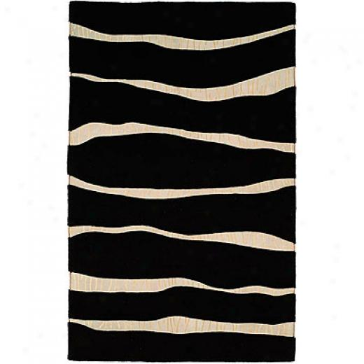 Harounian Rugs International Cambridge 8 X 11 Black Area Rugs