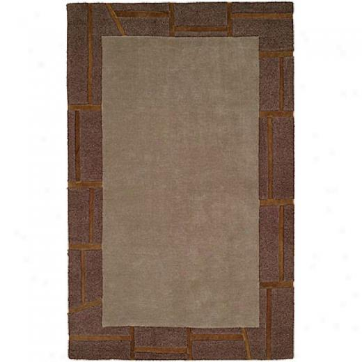 Harounian Rugs International Cambridge 8 X 11G rey Area Rugs