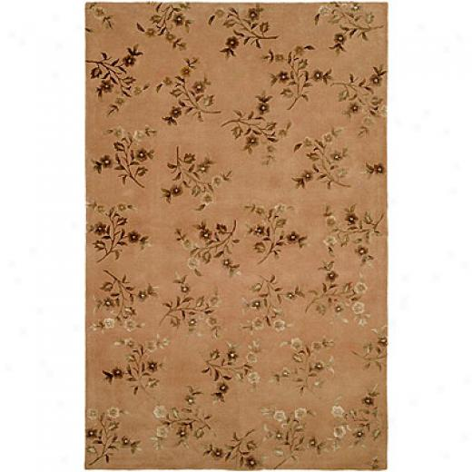 Harounian Rugs International Eden Park 8 X 11 Beige Yard Rugs