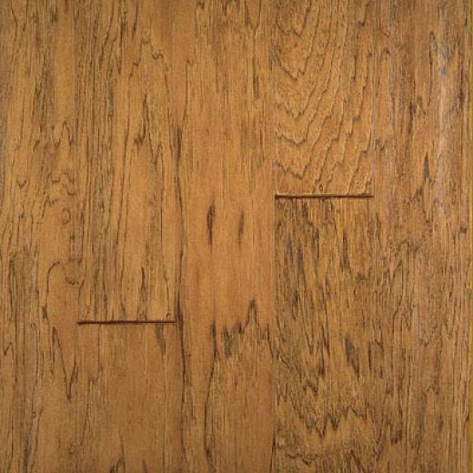 Harrist-arkett Artisan Sculptures Hickory Caramel Hardwooe Flooring