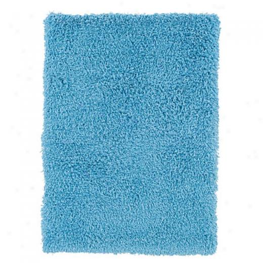 Hellenic Rug Imports, Inc. Ultimate Shag 3 X 10 Lt. Blue Area Rugs
