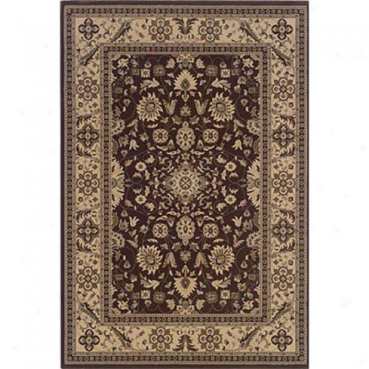 Hellenic Rug Imports, Inc. Magic 5 X 8 York Chocolate Area Rugs