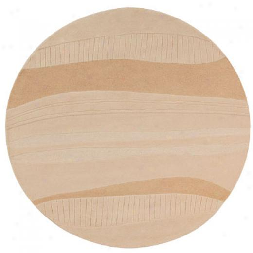 Hellenic Rug Imports, Inc. Goels Natural 8 Round Reef Area Rugs