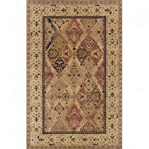 Hellenic Rug Imports, Inc. Wonders Of The World 9 X 12 Kerman Light Beige Area Rugs