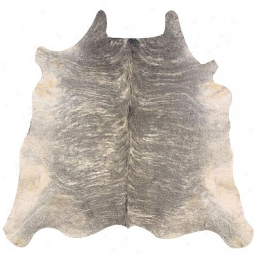 Hellenic Rug Imports, Inc. Cow Hide Lightbrindle 1 Fu Porous Area Rugs
