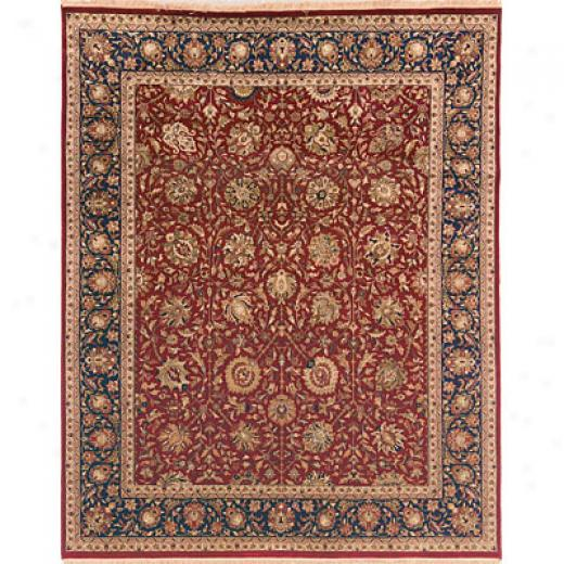 Hellenic Rug Imports, Inc. Private Reserve 10 X 14 Rehan Red Area Rugs