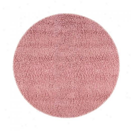 Hellenic Rug Imports, Inc. Ultimate Shag 6 X 9 Oval Pasyel Pink Area Rugs