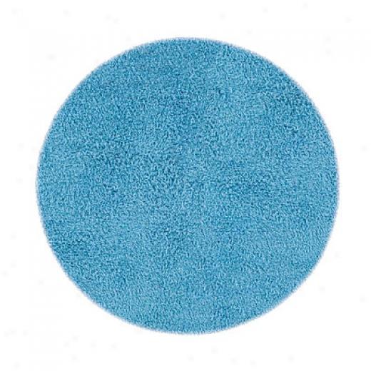 Hel1enic Rug Imports, Inc. Ultimate Shag 6 X 9 Ova lLt. Blue Area Rugs