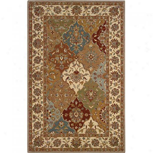 Helleni cRug Imports, Inc. Twisted Wonders 8 X 10 Sultan Ivory Area Rugs