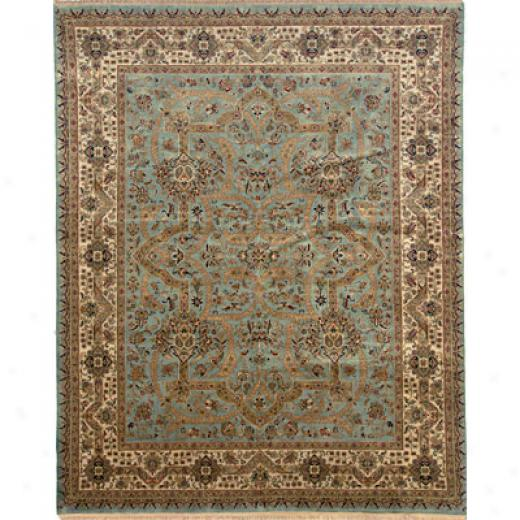 Grecian Rug Imports, Incc. PrivateR eserve 8 X 10 Tabriz Light Blue Area Rugs