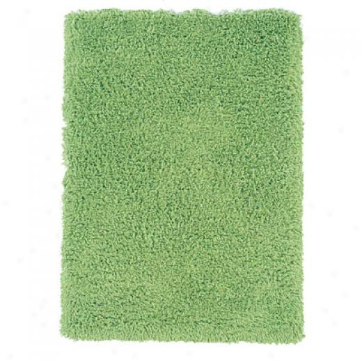 Hellenic Rug Imports, Inc. Ultimate Shag 6 X 9 Lime Green Area Rugs